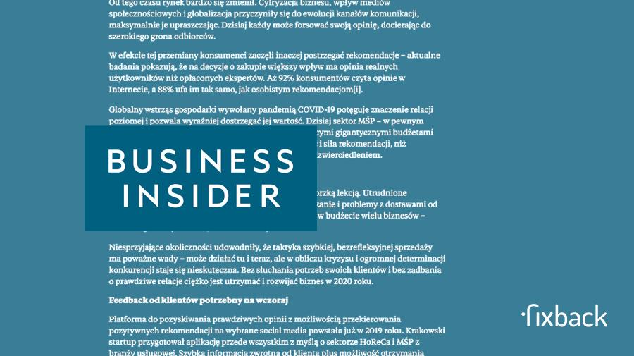 Business Insider: Czy rok 2020 nauczył polski biznes marketingu?
